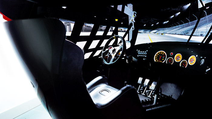 Proffesional racing cockpit