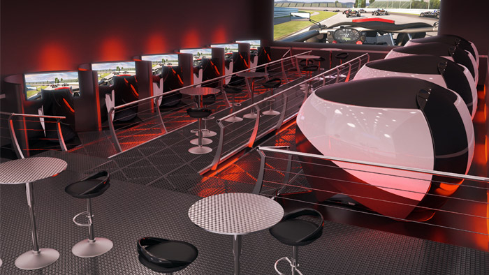 Motion Simulation Room The Ultimate Racing Experience